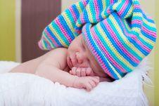 Free Baby Sleeps Royalty Free Stock Photography - 16292387