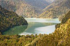 Free Lake Ritsa. Abkhazia. Royalty Free Stock Photography - 16293067