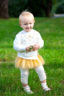 Free Sweet Baby Girl Stock Photography - 16293072