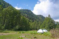 Free In Lake Ritsa Vicinities. Abkhazia. Stock Image - 16293251