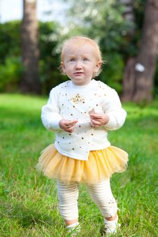 Free Sweet Baby Girl Royalty Free Stock Photos - 16293258
