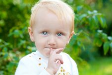 Free Sweet Baby Girl Royalty Free Stock Photography - 16293407
