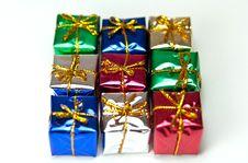 Free Gift Boxes Royalty Free Stock Photos - 16293628