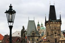 Free Charles Bridge Roofs Royalty Free Stock Image - 16293716