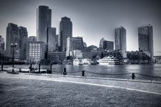 Free Boston Harbor Stock Photography - 16294112