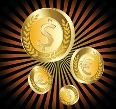 Free Gold Coin Stock Photo - 16294140