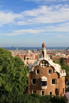 Free Guell Park Gingerbread  House Stock Photo - 16294430