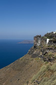 Free Gorgeous View Of Romantic Santorini Royalty Free Stock Photos - 16294888