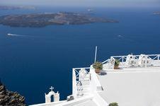 Free Gorgeous View Of Romantic Santorini Royalty Free Stock Photos - 16295058