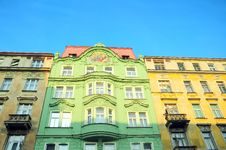 Free Building In Prague Royalty Free Stock Photo - 16295095