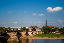 Free Photo Of Dresden With Blue Sky Stock Photos - 16295193