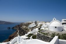 Free Church Bells On Santorini Island Royalty Free Stock Photos - 16295198