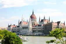 Free Hungarian Parliament, Budapest On Summer Stock Image - 16295211