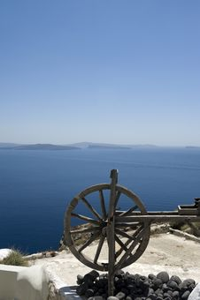 Free Gorgeous View Of Romantic Santorini Stock Photography - 16295272