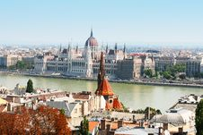 Free Hungarian Parliament, Budapest On Summer Stock Image - 16295291
