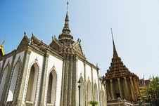 Buddha Temple In Thailand Grand Palace Stock Images
