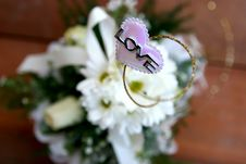 Free Love Heart With Flower Stock Photos - 16296043
