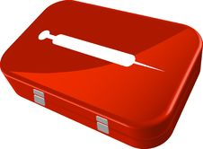 Free First Aid Kit Royalty Free Stock Photos - 16296568