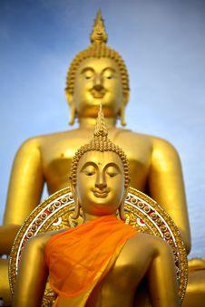 Free Buddha Status Royalty Free Stock Images - 16296639