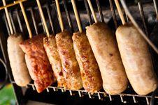 Free Thai Sausage Stock Photography - 16297402