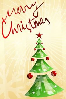 Free Christmas Postcard Stock Images - 16297434