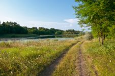 Free Summer Landscape Stock Image - 16298131