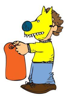 Dog Costume Stock Image