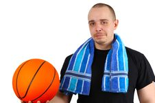 Free Basketball Player Stock Photography - 16298642