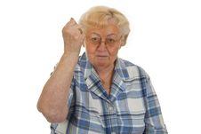 Free Female Senior Royalty Free Stock Photos - 16298848
