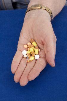Free Taking Pills Stock Image - 16298941