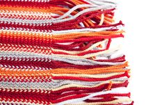 Free Close-up View At Red Scarf. Stock Photography - 16298982