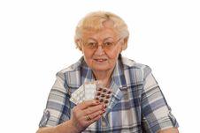 Free Holding Pills Stock Photo - 16299000