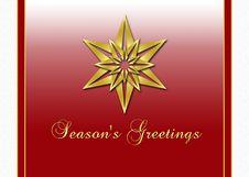 Free Season S Greetings Card Stock Image - 16299181