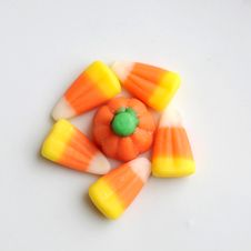 Free Halloween Candy Corn Stock Photo - 16299370