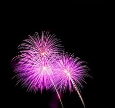 Free Purple Fireworks Crop Royalty Free Stock Photos - 16299578
