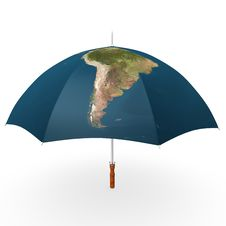 Free South America Umbrella Stock Photography - 16299712