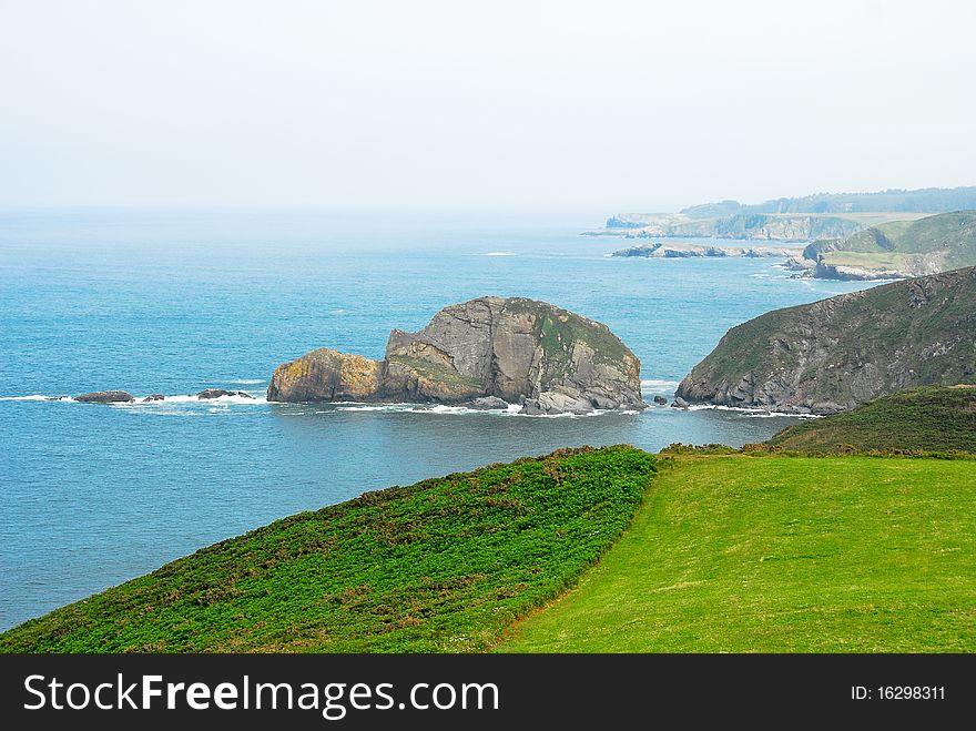 Coast at Spain