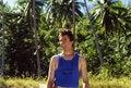 Free Smiling Man On A Hawaiian Trail Stock Photos - 1631773