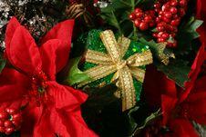 Free Christmas Basket Detail Stock Photo - 1631070
