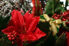 Free Christmas Basket Detail Stock Image - 1631071