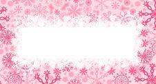 Free Crimson Christmas Card Royalty Free Stock Image - 1631246