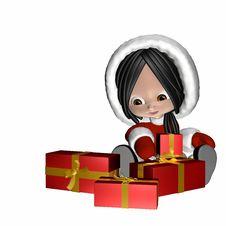 Free Christmas Doll 1 Stock Photography - 1631642