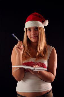 Free Christmas Girl Stock Photos - 1632503