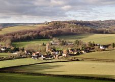 Village In England Royalty Free Stock Image