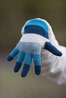 Winter Hands Stock Photography