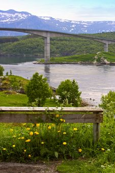 Free Bridge In Norway Royalty Free Stock Image - 1633786