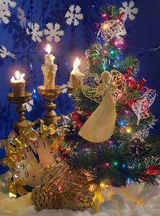 Christmas Composition (11) Stock Images