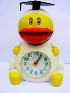 Free Duck Alarm Clock Stock Photography - 1634402