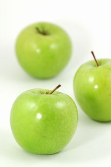 Free Green Apples Royalty Free Stock Photo - 1634415