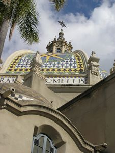 Free Architectural Detail 8, Balboa Park Stock Photo - 1634780